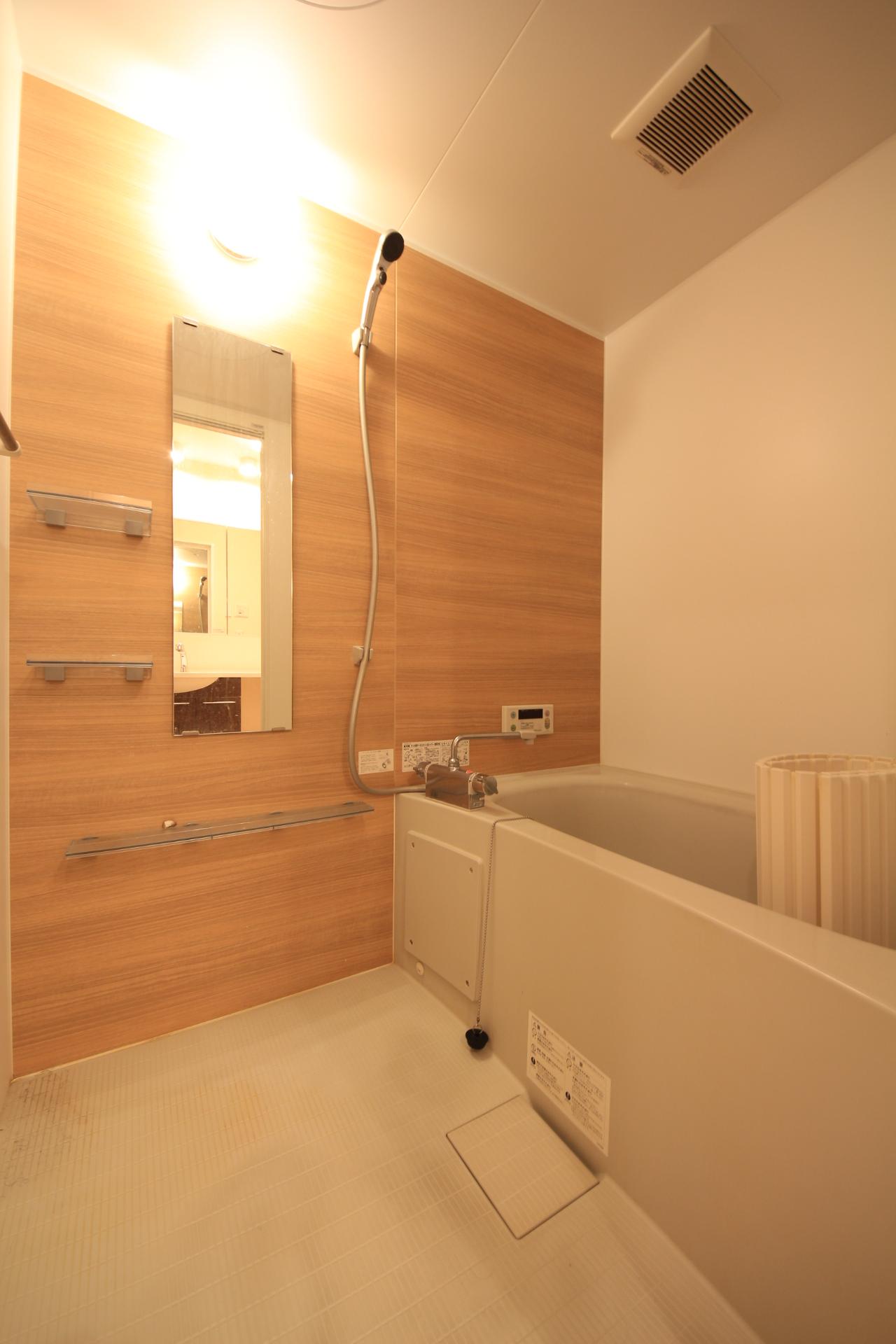賃貸アパート 内観 浴室